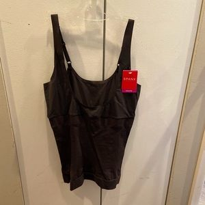 NWT Spanx Open Bust Camisole, Black